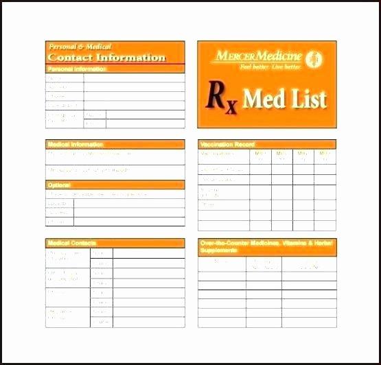 Medication Wallet Card Template Inspirational Drug Card Template Free Wallet Size Medication