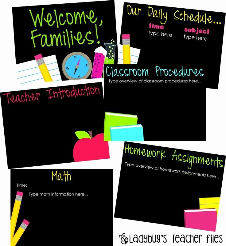 Meet the Teacher Template Best Of Meet the Teacher Powerpoint