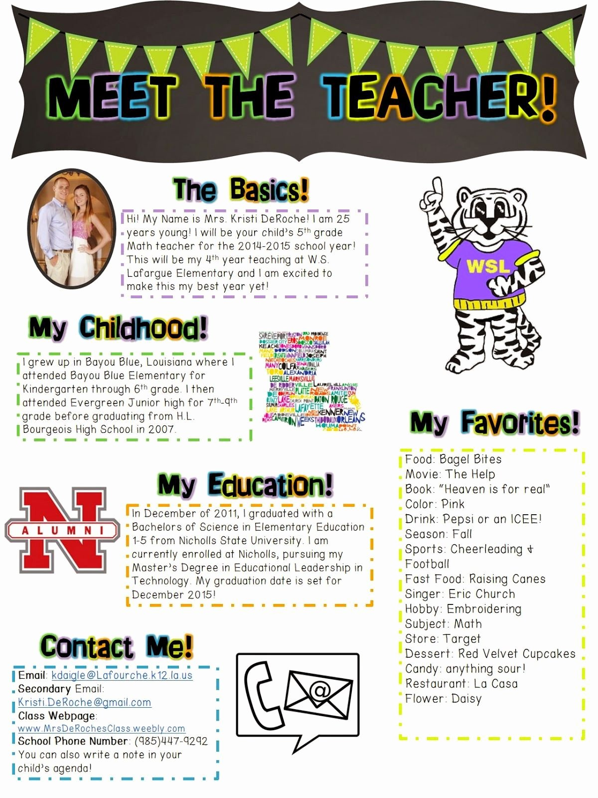 Meet the Teacher Template Unique Meet the Teacher Open House Newsletter