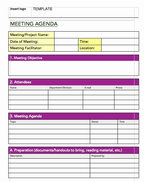Meeting Minute Template Excel Inspirational 20 Handy Meeting Minutes & Meeting Notes Templates