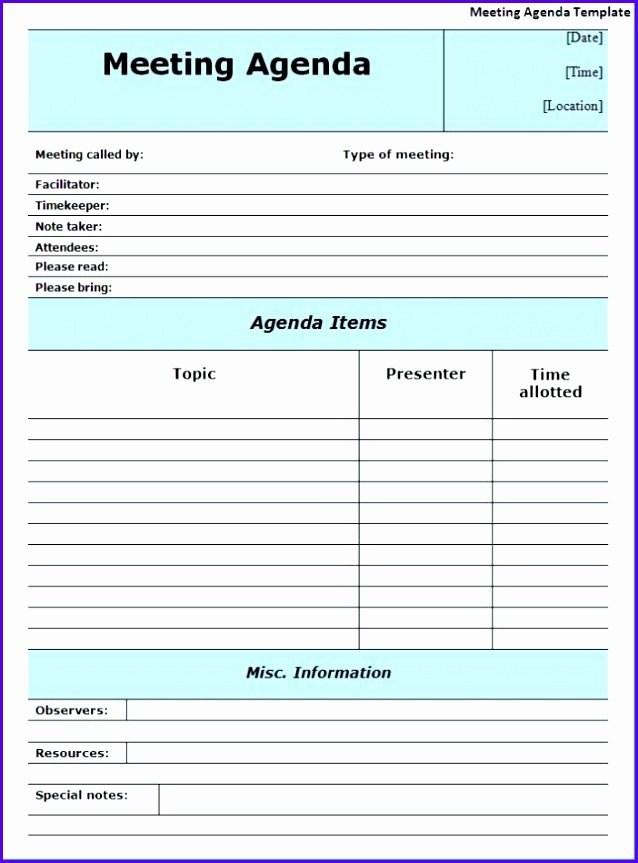 Meeting Minutes Template Excel Unique 14 Minutes Meeting Template Excel Exceltemplates