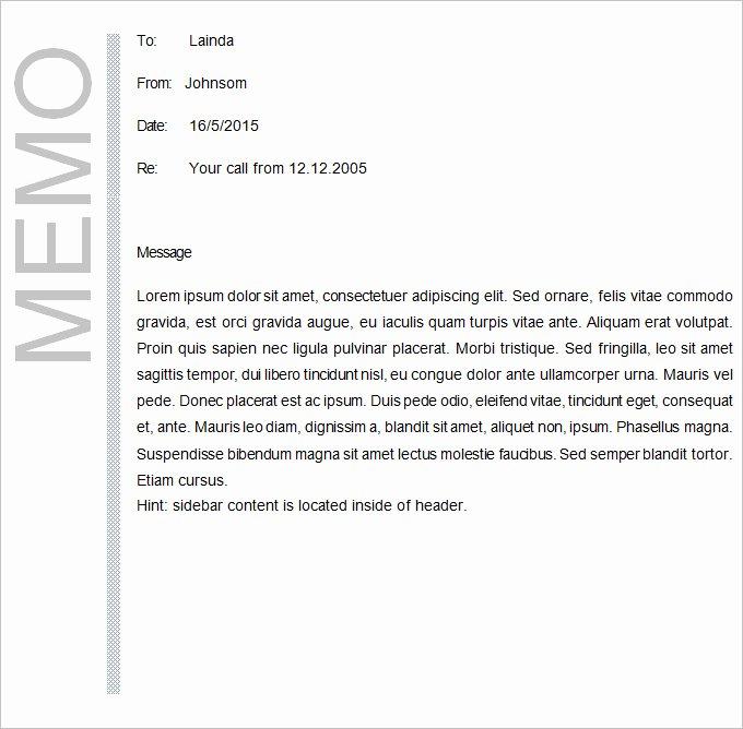 Memo Template Google Docs Elegant Business Memo Template 22 Word Pdf Google Docs