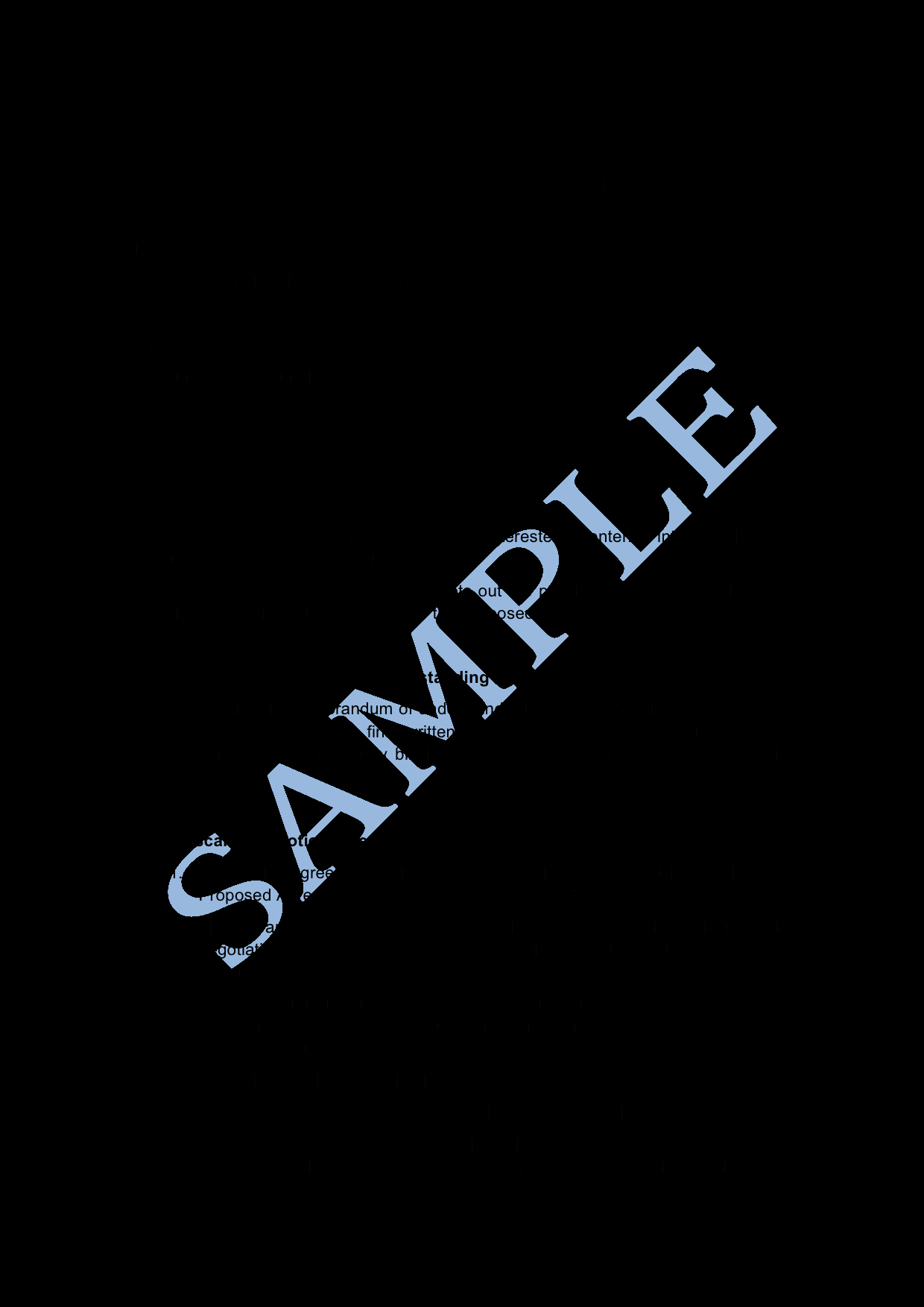 Memorandum Of Agreement Template Unique Memorandum Of Understanding Sample Lawpath
