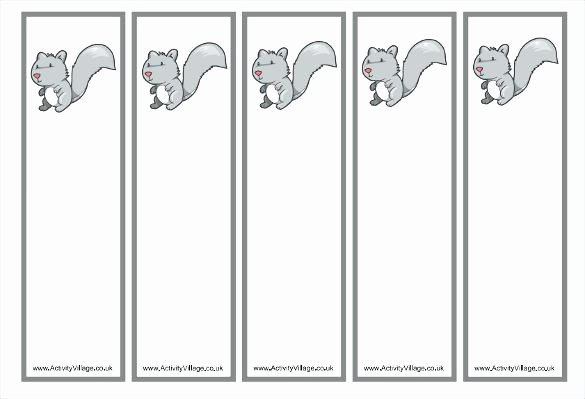 Memorial Bookmarks Template Free Luxury Free Blank Bookmark Templates to Print Professional
