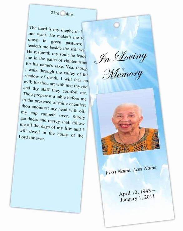 Memorial Bookmarks Template Free New Best 25 Bookmark Template Ideas On Pinterest