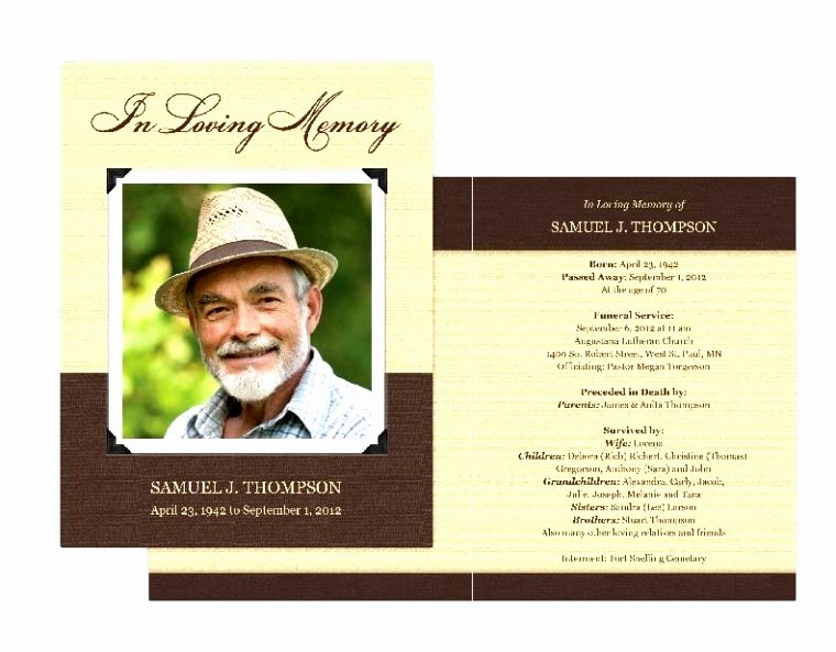 Memorial Cards Template Free Beautiful 8 In Memoriam Cards Template Eemub