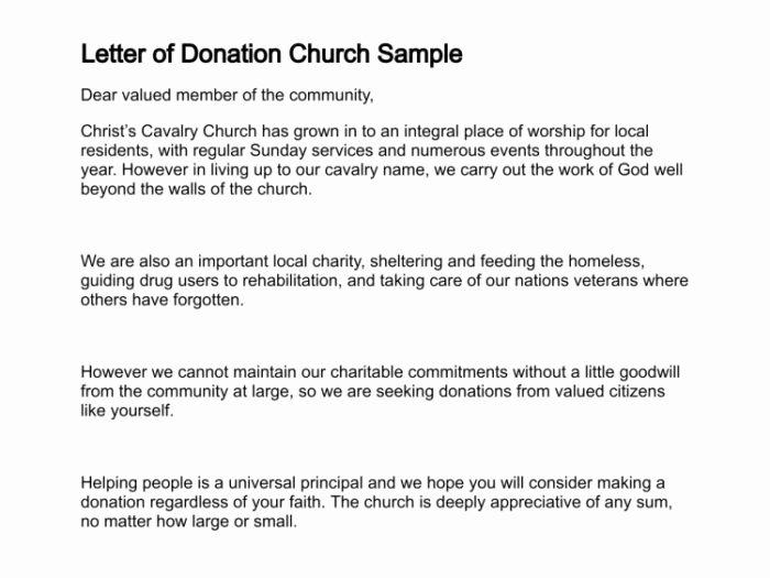 Memorial Donation Letter Template Beautiful Donation Thank You Letter Template for Church Templates