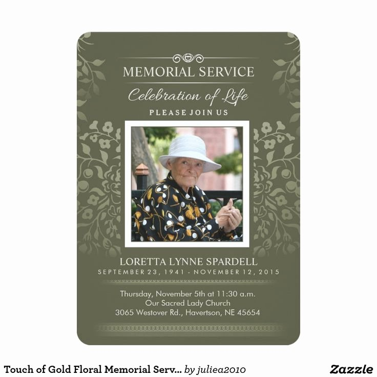 Memorial Service Invitation Template Lovely 8 Best Invitations for Graveside Service Images On