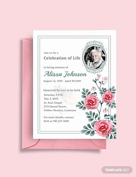 Memorial Service Invitation Template New Gym Opening Invitation Template Download 344 Invitations