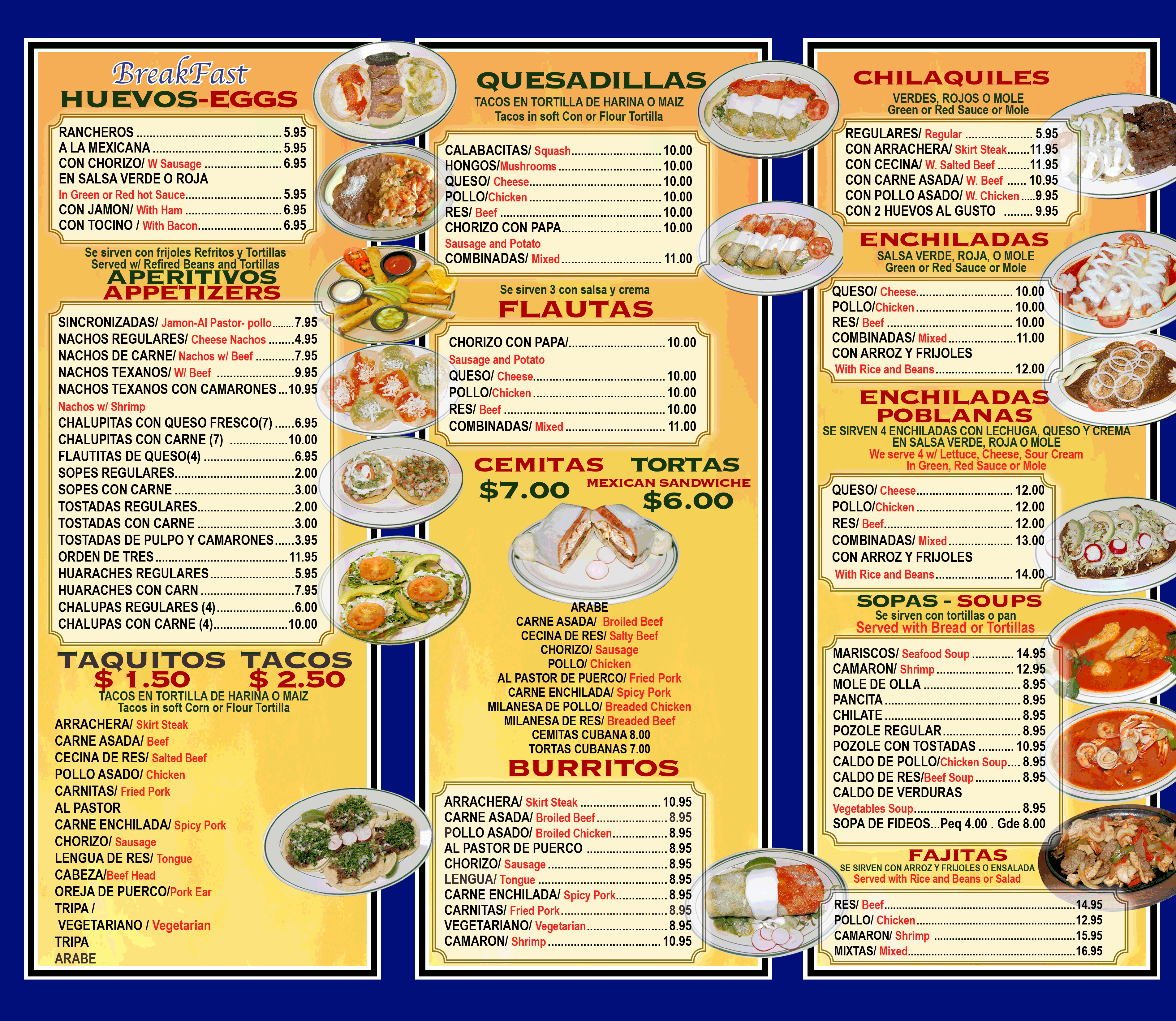 Mexican Restaurant Menu Template Elegant Menu Template Category Page 1 Vinotique
