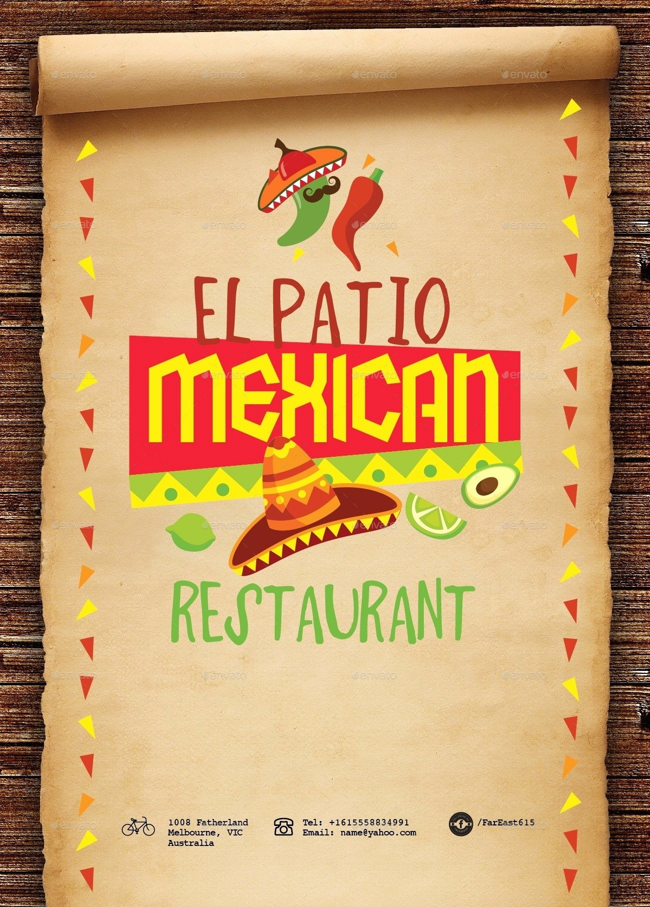 Mexican Restaurant Menu Template Elegant Mexican Restaurant Menu Templates