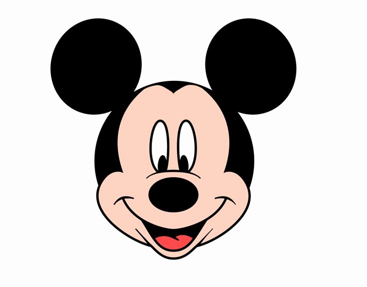 Mickey Mouse Face Template Best Of Best 25 Mickey Mouse Template Ideas On Pinterest