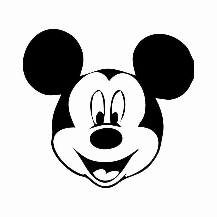 Mickey Mouse Face Template Elegant 25 Best Ideas About Face Template On Pinterest