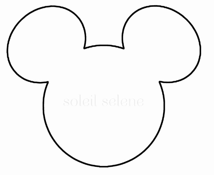 Mickey Mouse Face Template Elegant Google Image Result for