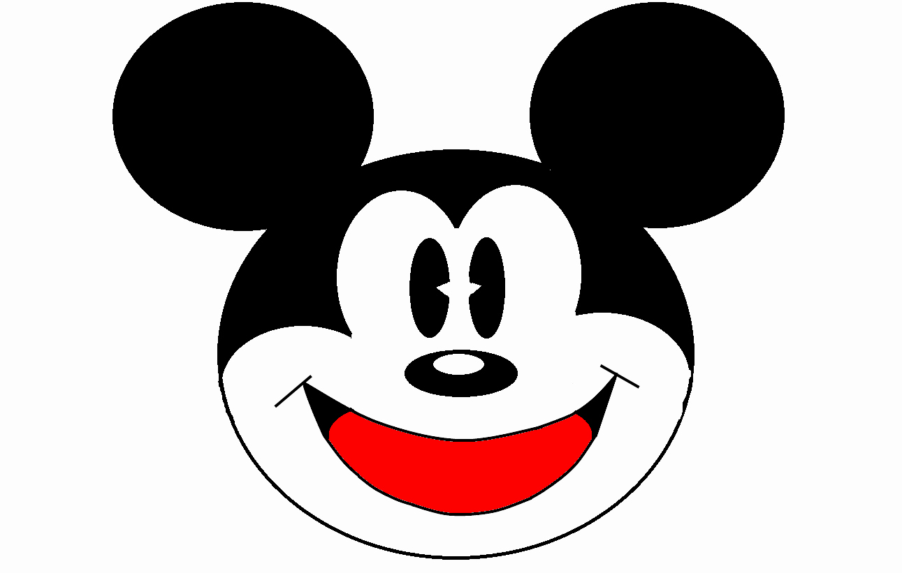 Mickey Mouse Face Template Lovely Free Mickey Mouse Head Download Free Clip Art Free