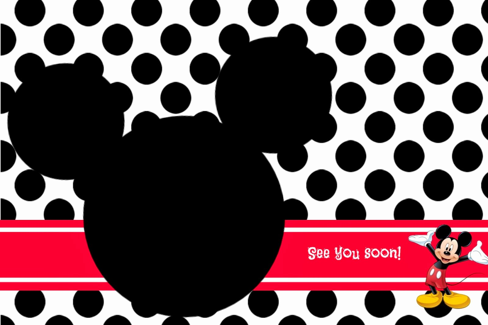 Mickey Mouse Invitations Template Fresh Random Ramblings
