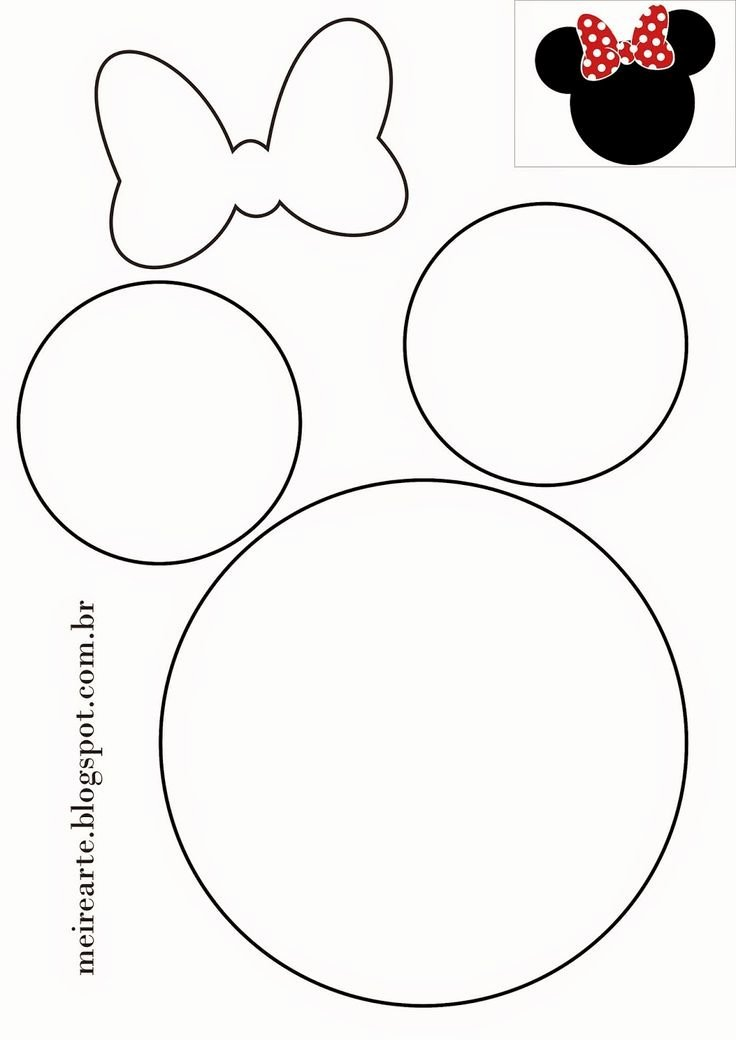 Mickey Mouse Template Free Best Of 25 Best Ideas About Minnie Mouse On Pinterest