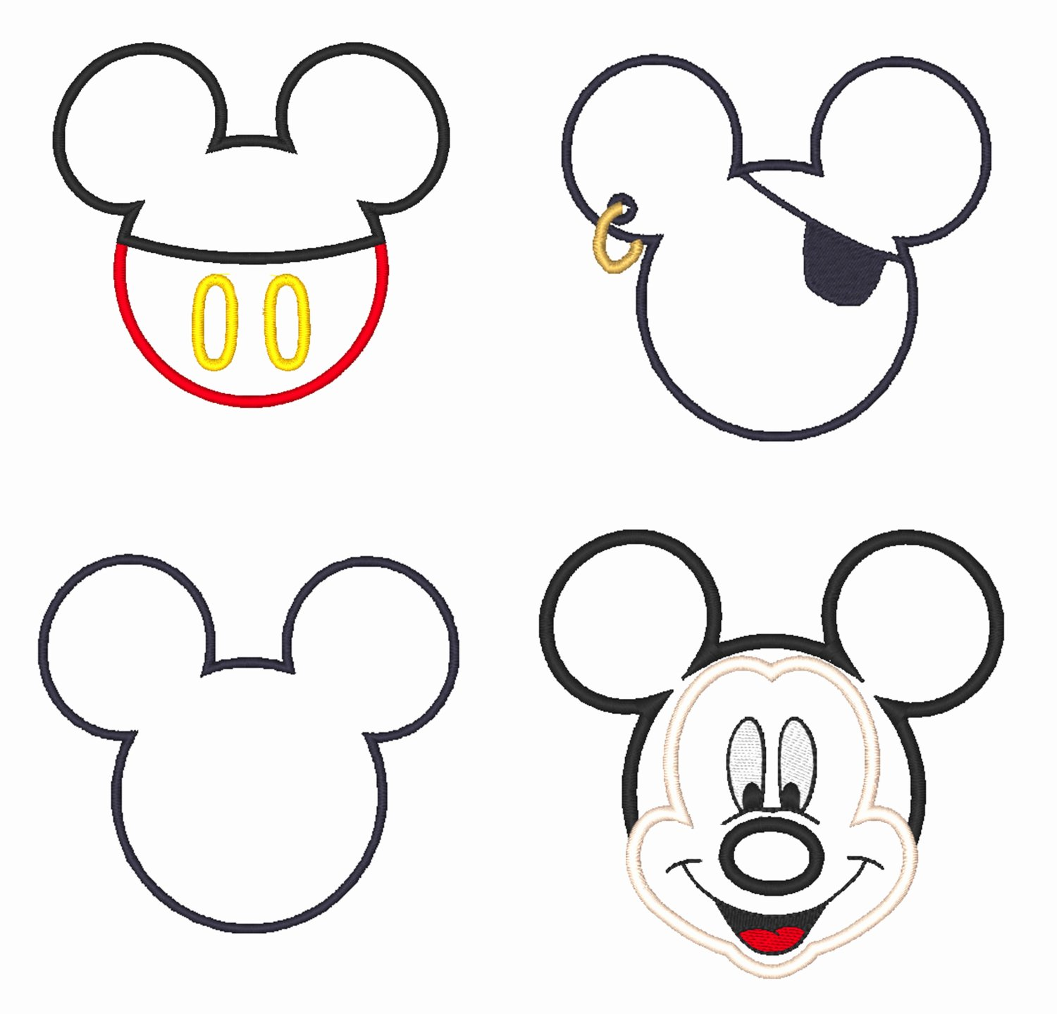 Mickey Mouse Template Free New Free Outline Mickey Mouse Download Free Clip Art Free