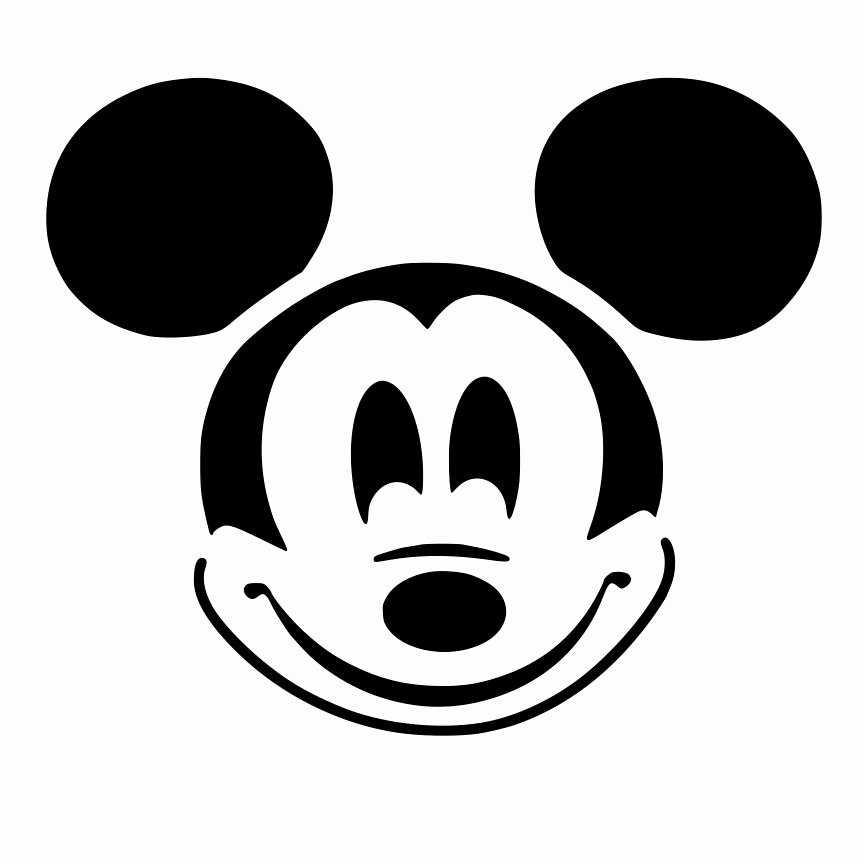 Mickey Mouse Template Free Unique Free Printable Mickey Mouse Ears Template Download Free