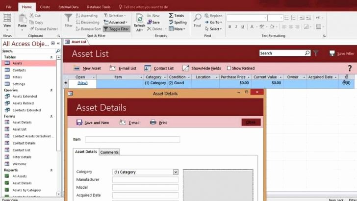 Microsoft Access 2007 Template Awesome Microsoft Access Database Templates 2007 Salonbeautyform