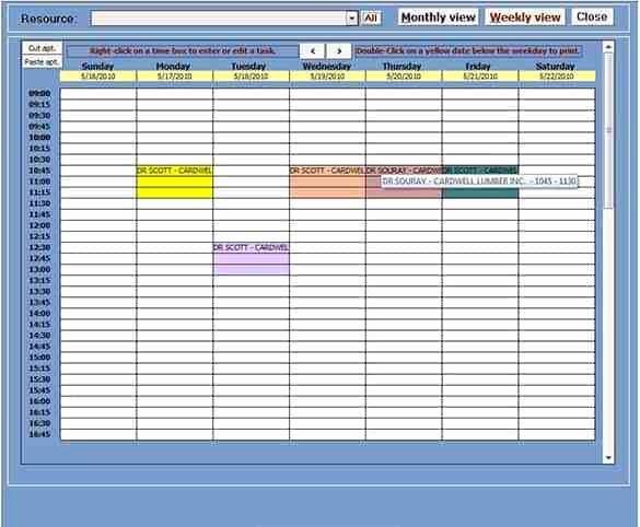 Microsoft Access Calendar Template Beautiful Microsoft Access Calendar Template Free