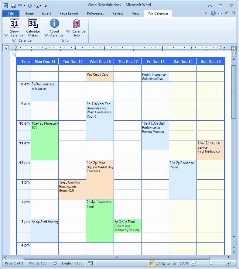 Microsoft Access Calendar Template Lovely Calendar Creator for Microsoft Word with Holidays
