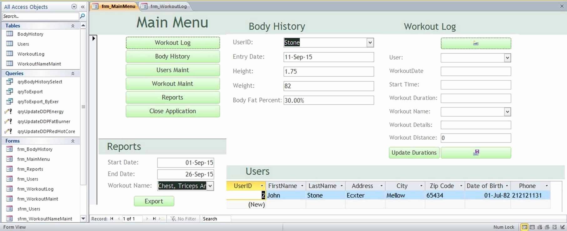 Microsoft Access form Template Elegant Microsoft Access Family Tree Genealogy History Templates