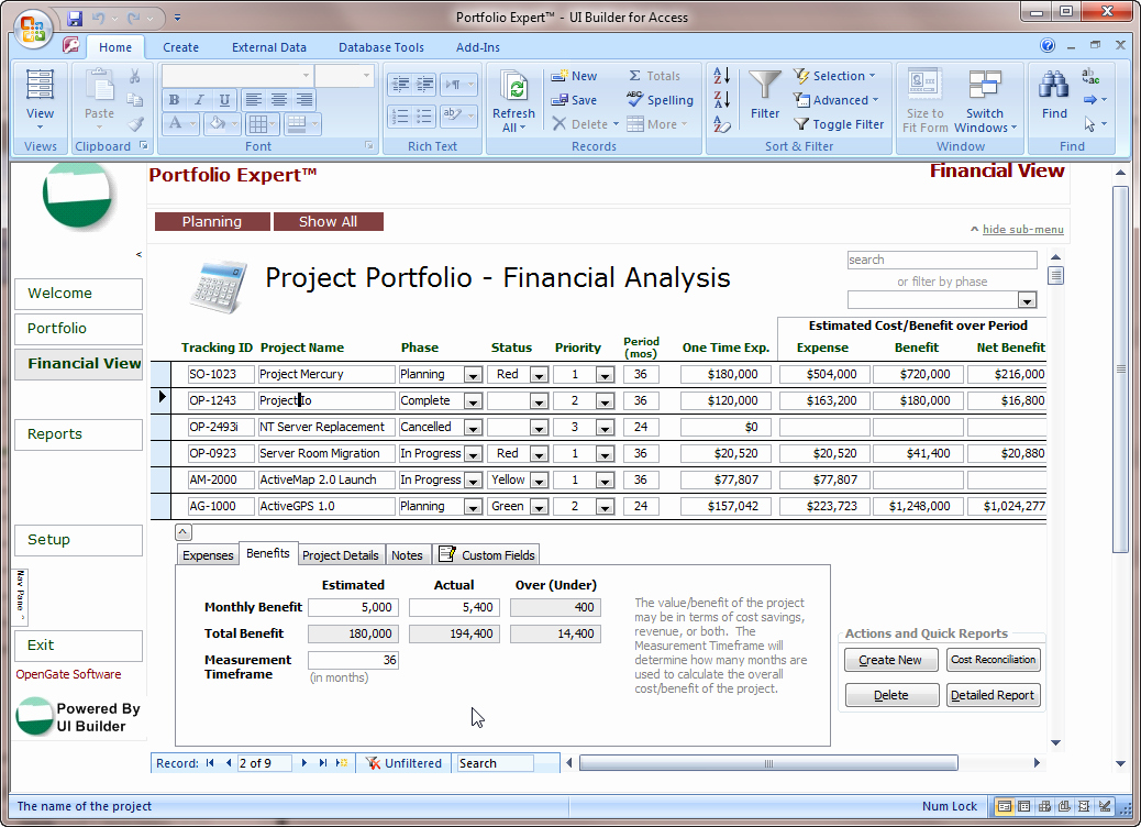 Microsoft Access form Template Elegant Microsoft Access Project Management Template Microsoft