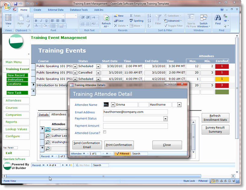 Microsoft Access Inventory Template Beautiful Microsoft Access Templates