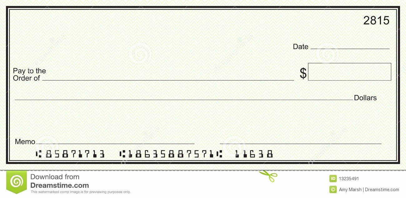 Microsoft Office Check Template New Oversized Check Template Microsoft Fice