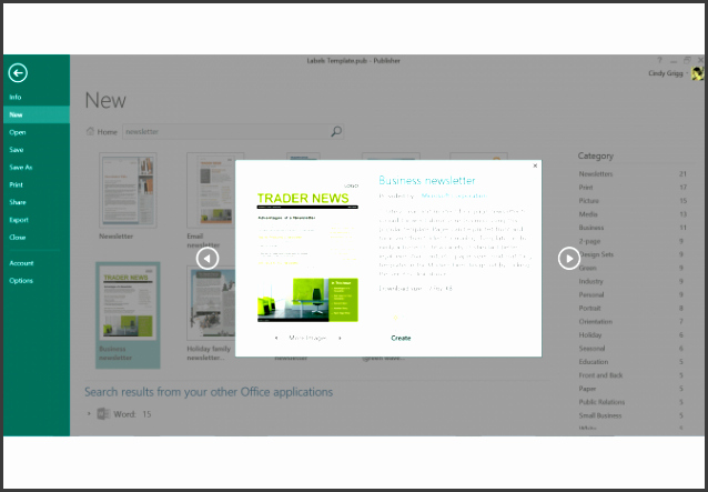 Microsoft Outlook Newsletter Template Awesome 6 Make Outlook Newsletter for Free Sampletemplatess