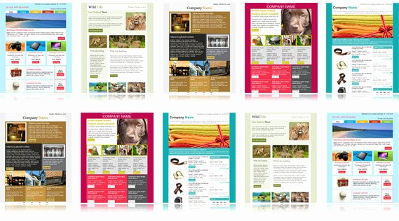 Microsoft Outlook Newsletter Template Awesome 900 Free Responsive Email Templates to Help You Start
