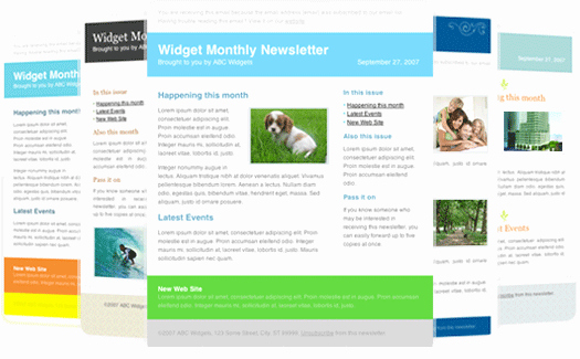 newsletter templates for outlook 30 free great looking email templates campaign monitor free