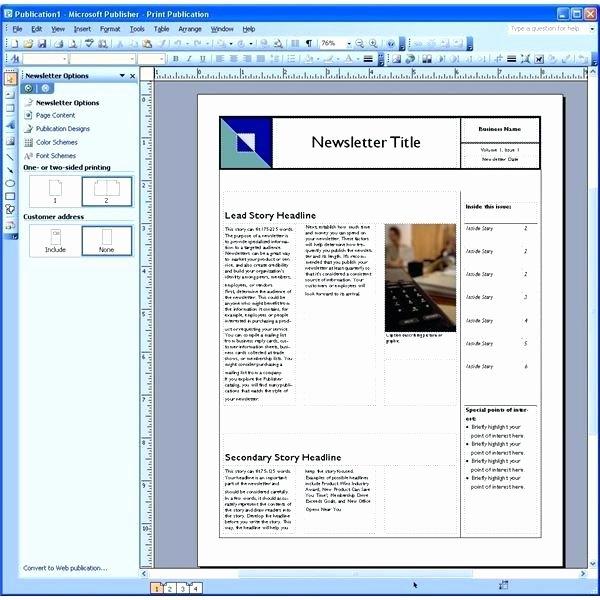 Microsoft Outlook Newsletter Template Elegant Microsoft Newsletter Templates – Moonwalkgroup
