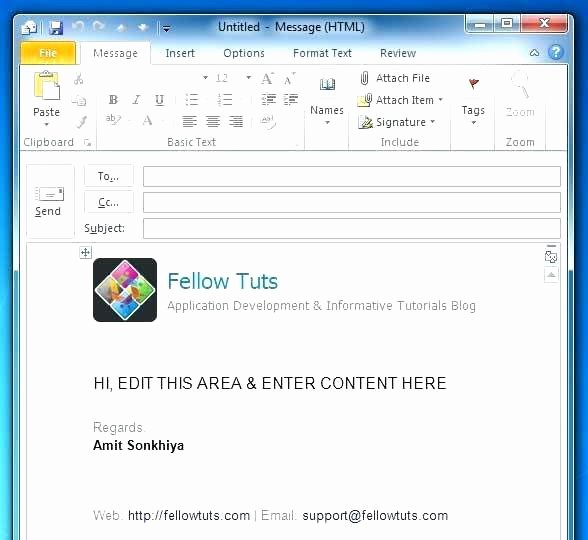 Microsoft Outlook Newsletter Template Unique Email Design Inspiration Outlook Email Newsletter Template