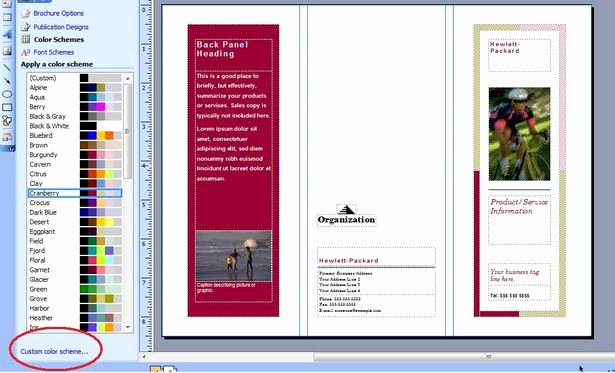 Microsoft Publisher Booklet Template Inspirational Brochure Templates Microsoft Publisher Csoforumfo