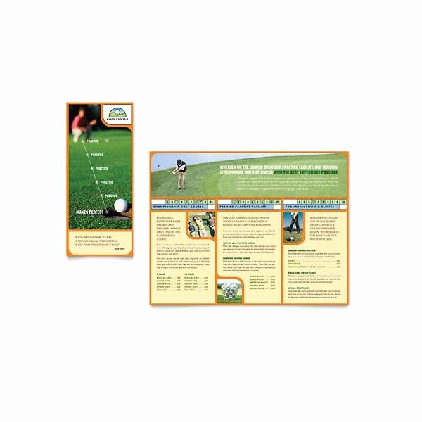 Microsoft Publisher Booklet Template Luxury 10 Microsoft Publisher Brochure Golf Template Options
