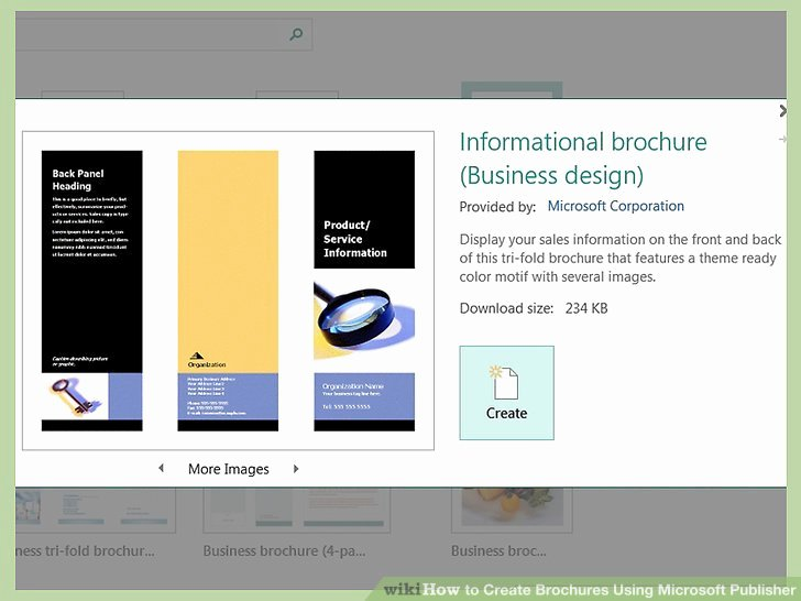Microsoft Publisher Booklet Template New How to Create Brochures Using Microsoft Publisher 11 Steps