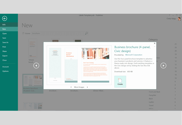 Microsoft Publisher Brochure Template Awesome Free Design Templates and Printables for Microsoft