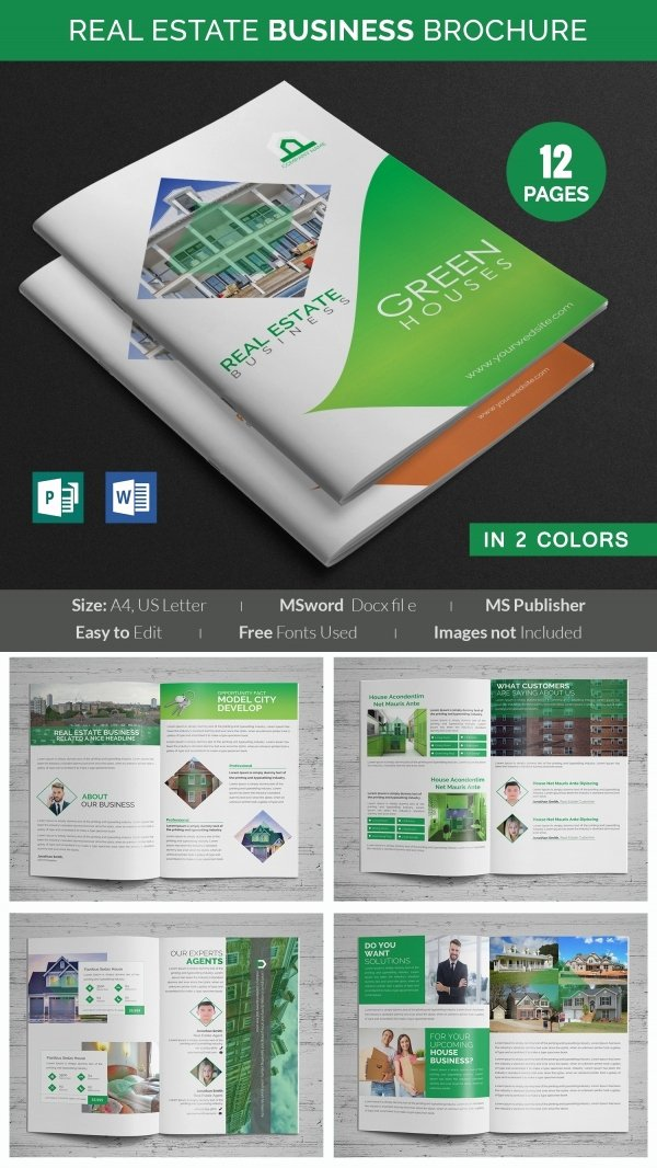 Microsoft Publisher Brochure Template New 26 Microsoft Publisher Templates Pdf Doc Excel