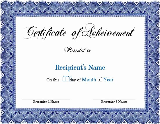 Microsoft Publisher Certificate Template Awesome Award Certificate Template Microsoft Word Links Service