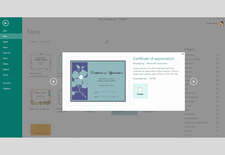 Microsoft Publisher Certificate Template Best Of Free Design Templates and Printables for Microsoft