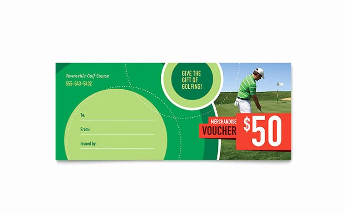 Microsoft Publisher Certificate Template Best Of Golf tournament Gift Certificate Template Word & Publisher