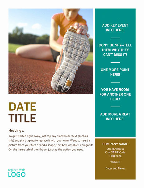 Microsoft Word Banner Template Inspirational Flyers Fice