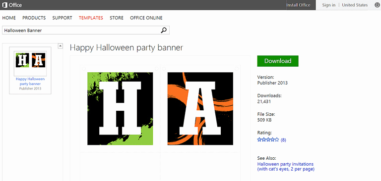Microsoft Word Banner Template Inspirational Free Halloween Templates and Printables for Microsoft Fice
