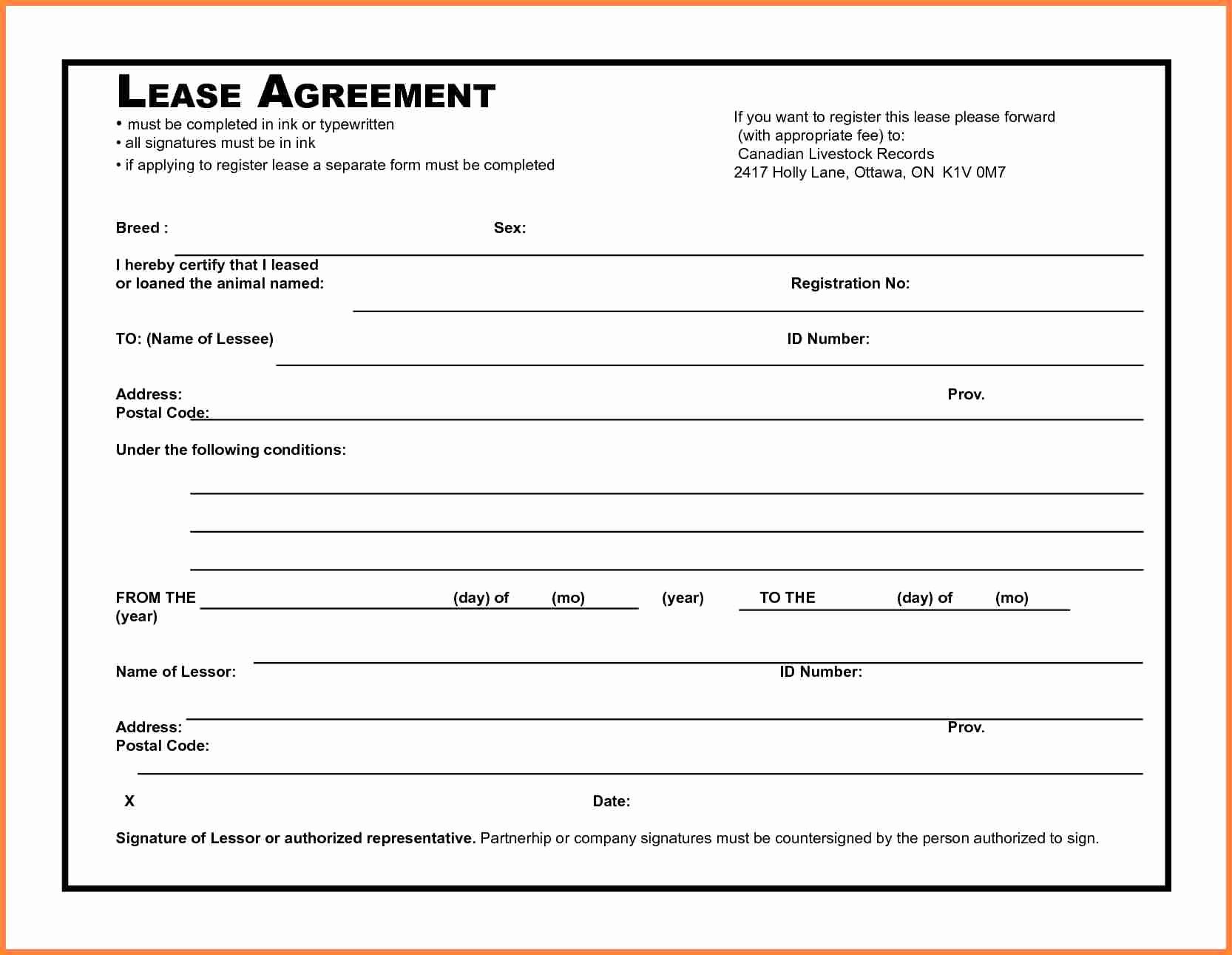 Microsoft Word Contract Template Best Of 5 Microsoft Word Lease Agreement Template