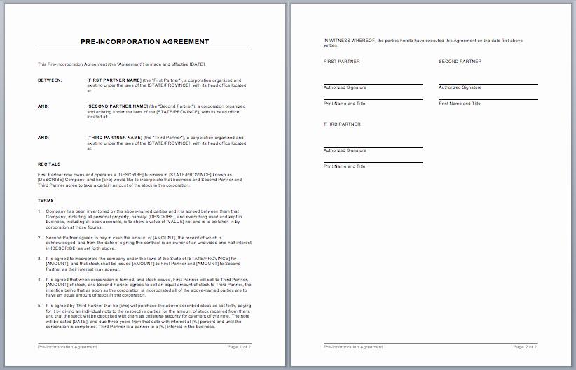 Microsoft Word Contract Template Inspirational Contract Templates – Microsoft Word Templates