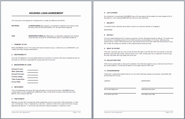 Microsoft Word Contract Template Lovely Contract Templates – Microsoft Word Templates