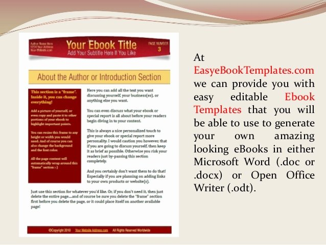 Microsoft Word Cookbook Template Best Of Ebook Templates for Word