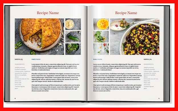 Microsoft Word Cookbook Template New Recipe Book Word Template